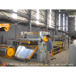 High Speed Steel coil Cut to length line