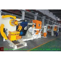 Thin Steel coil low speed cut to length line