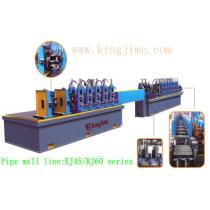 pipe production line for carbon steel