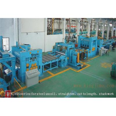 low speed heavy steel coil cut to length line