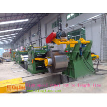 high speed cutting line for hot roll steel