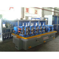 carbon steel high frequency welded tube mill line