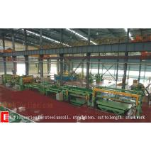 steel cutting line