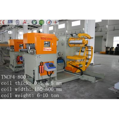 nc servo metal feed cutting machine