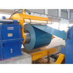 sheet steel recoiler for slitting line