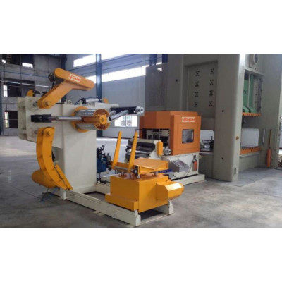 nc servo metal punch press feed machine