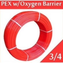 PEX tube with evoh oxygen barrier