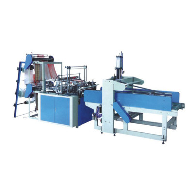 cold cutting bag making machine with punching machine
