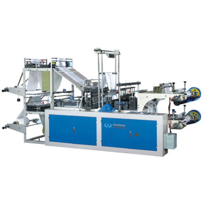 high speed vest bag making machine on roll