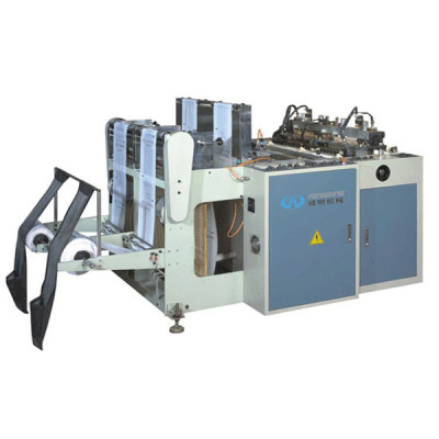 High speed vest bag making machine without punching unit