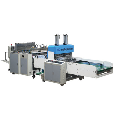High speed vest bag making machine