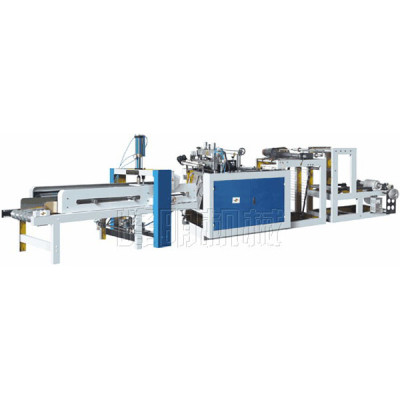 High speed vest bag making machine line
