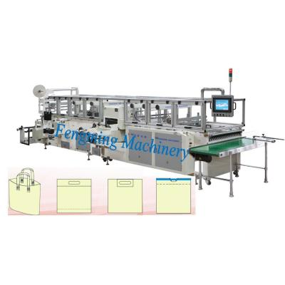 Automatic Patch Bag and Handle Bag making Machine