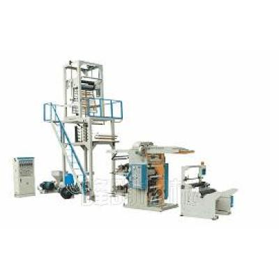 PE Film Blowing and Flexographic Printing Line Set