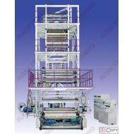 SJ-FM1300-2300Three To Five Layer Co-extrusion Film Blowing Machine Set(IBC TYPE)