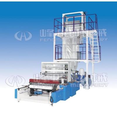 SJ-FM High speed film blowing machine with auto rewinder