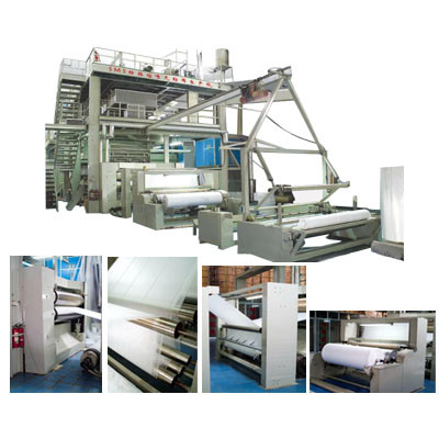 FM-DL-1600Automatic Non-woven Fabrics Film Blowing Machine Set