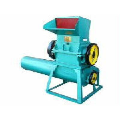 Crusher with washing