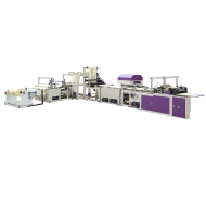 Non-woven box type bag-making machine