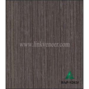 BAP-S202# High quality engineered black color veneer for plywood face