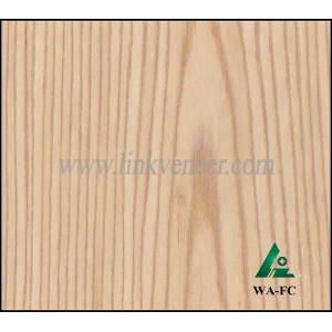 WA-FC 0.4MM white ASH quarter cut veneer/engineered oak wood veneer face veneer sheet