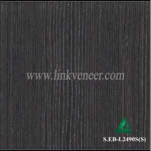 S.EB-L2490S(S), Engineered black oak Veneer for Plywood