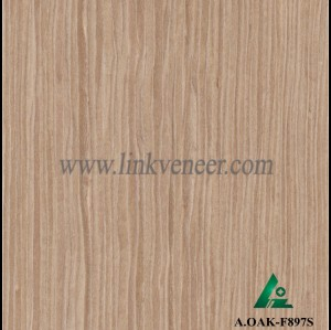 A.OAK-F897S, engineered veneer reconstituted veneer recon veneer supplier