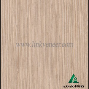 A.OAK-F988S, Oak wood engineered veneer for plywood