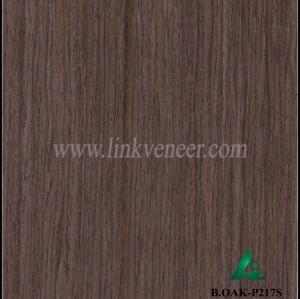 B.OAK-P217S, Engineered black oak veneer for plywood face