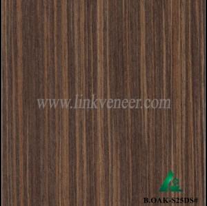 B.OAK-S25DS#, black oak wood veneer