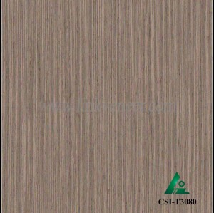CSI-T3080, Reconstituted straight grain oak wood veneer