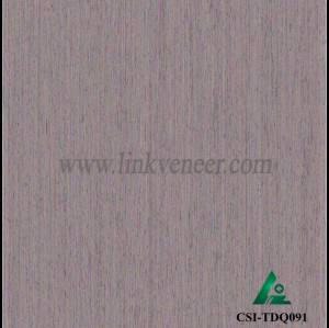 CSI-TDQ091, Reconstituted straight grain oak wood veneer