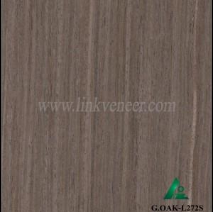 G.OAK-L272S, Black Oak wood engineered veneer for plywood