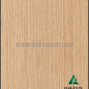 OAK-F113S, E.V. recon oak veneer engineered wood veneer ,modified veneer