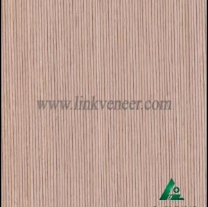 OAK-F421S, Engineered straight grain oak wood veneer
