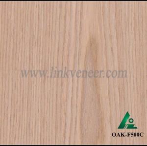 OAK-F500C, Engineered rotary cut oak wood veneer