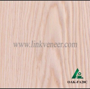 OAK-FA28C, Engineered rotary cut white oak wood veneer