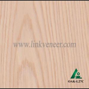 OAK-L27C, Engineered rotary cut oak wood veneer