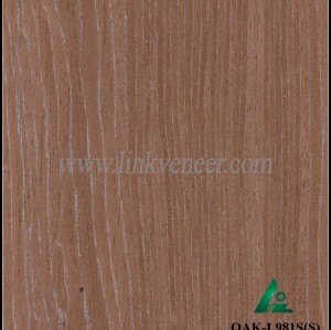 OAK-L981S(S), Engineered oak face veneer, silver oak