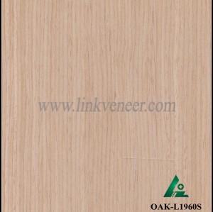 OAK-L1960S, white oak wood veneer
