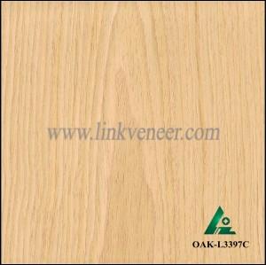OAK-L3397C, Engineered rotary cut yellow oak wood veneer
