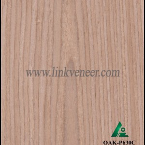 OAK-P630C, Engineered rotary cut oak wood veneer