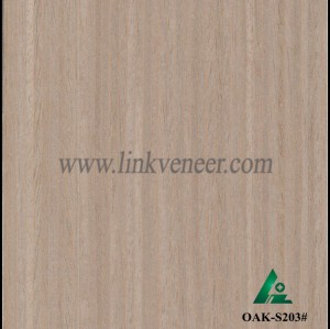 G.OAK-S203#, engineered oak wood veneer / recon veneer