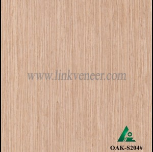 OAK-S204#, 0.4mm engineered gray oak wood veneer for furniture