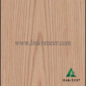 OAK-T1317, Engineered rotary cut oak wood veneer