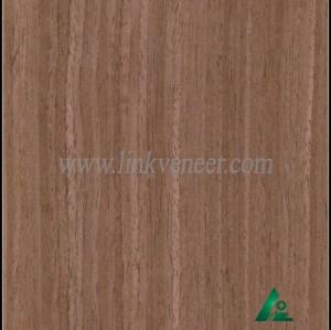 OAK-Y609S, Engineered straight grain oak wood veneer