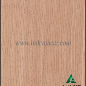 OAK-Y1232S, Reconstituted straight grain oak wood veneer