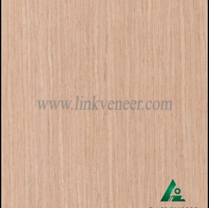 OAK-Y1333S, Engineered straight grain oak wood veneer