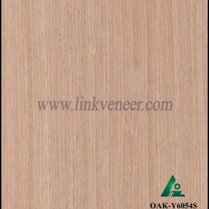 OAK-Y6054S, Reconstituted straight grain oak wood veneer