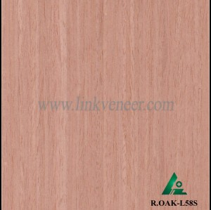 R.OAK-L58S, Oak engineered veneer reconstituted veneer recon veneer supplier